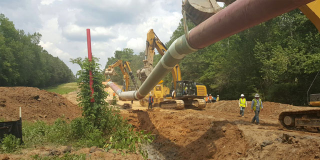 Pipeline Maintenance/Construction - Pine Belt Energy Services